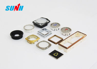 High Precision Replacement Elevator Buttons Small Size For LOP / COP