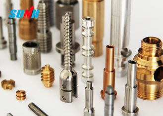 High Precision Custom Machined Parts Small Size With Metal Surface Treatment