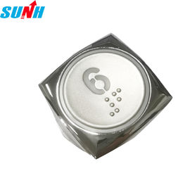 SUNH Round Elevator Alarm Button OEM Display DC24V / DC12V Orange Light